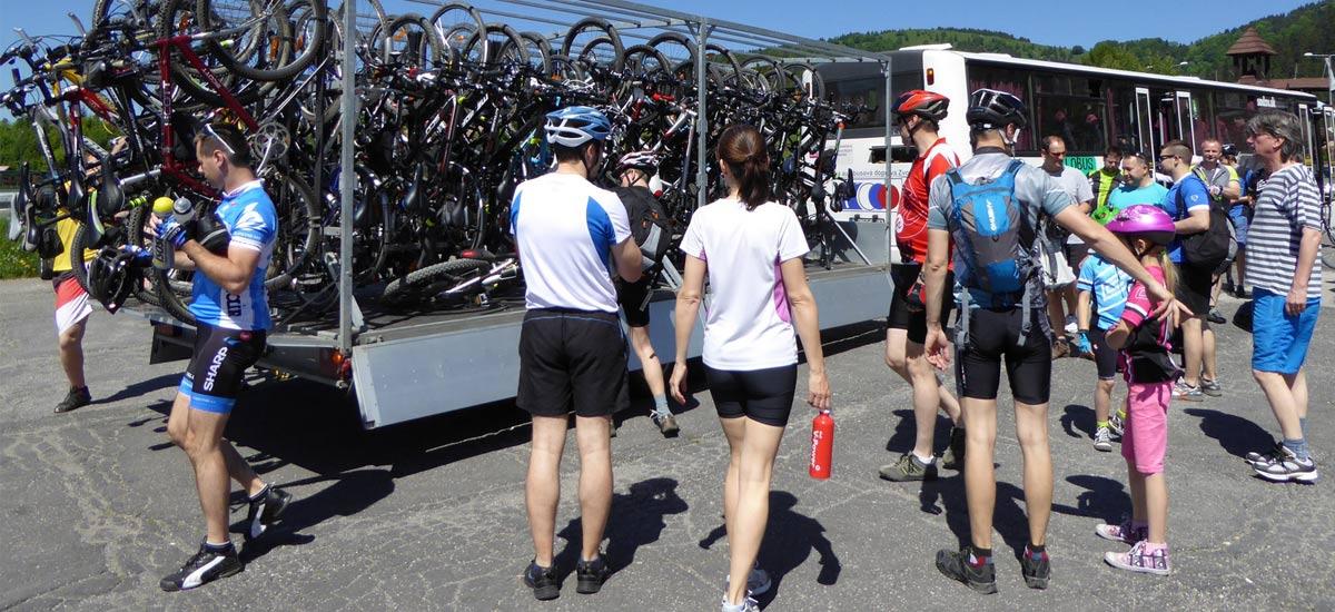 Na strednom Slovensku pribudne ďalší cyklobus aj cyklovlaky