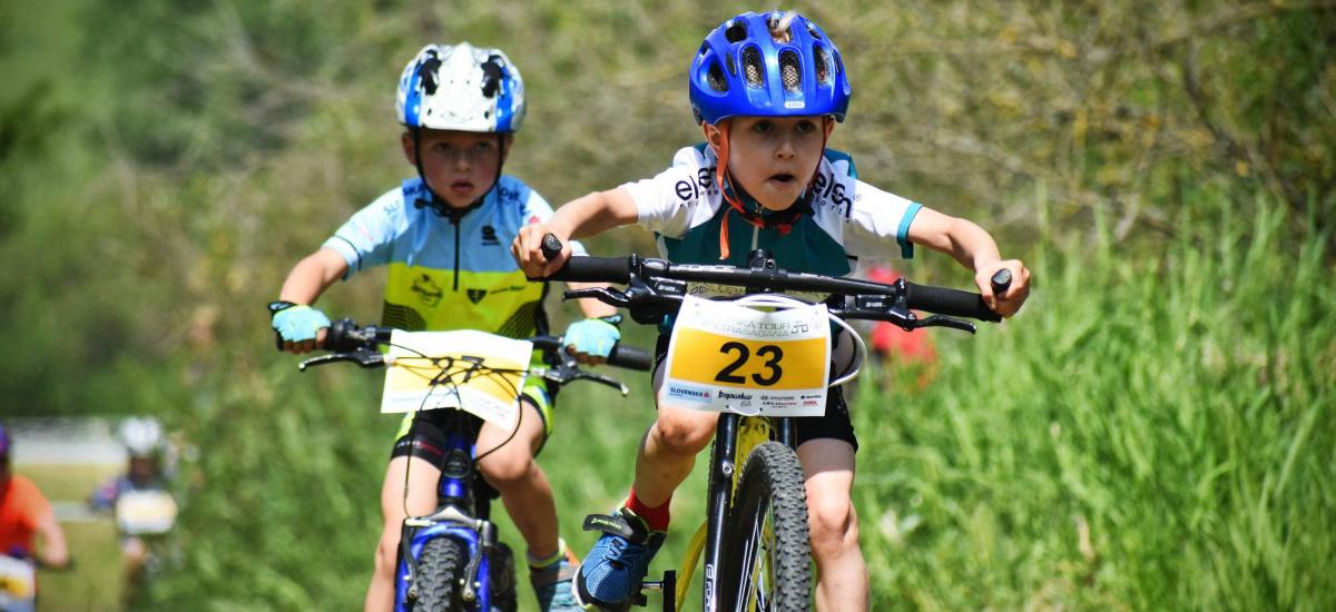 Detská tour Petra Sagana 5.kolo – poriadne zablatená trať