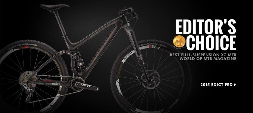 4dfca5024 FELT EDICT FRD - Najlepší MTB XC celoodpružený bike podľa World of MTB  Magazin