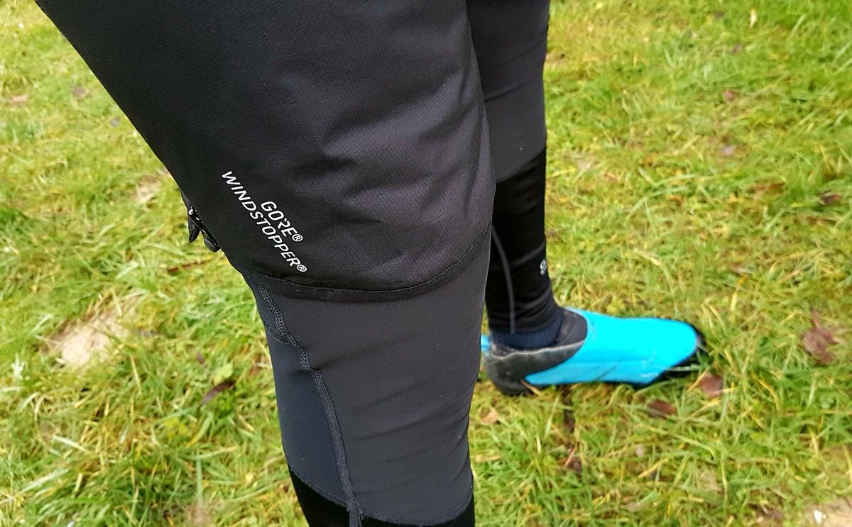 Test: Krátke nohavice GORE  WINDSTOPPER® Insulated - špecialita do extra chladu