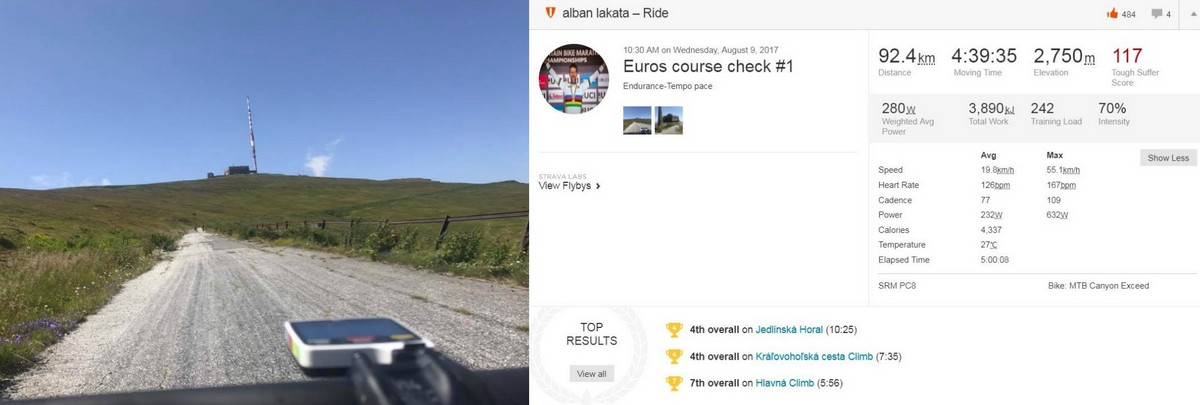 UEC MTB maratón 2017 - Do Svitu pod Tatrami sa už zbieha maratónska špička
