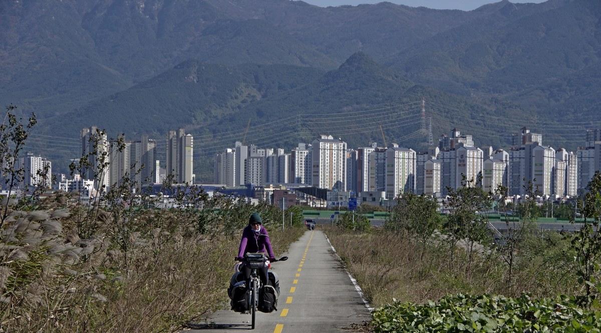 Cez Južnú Kóreu na bicykli