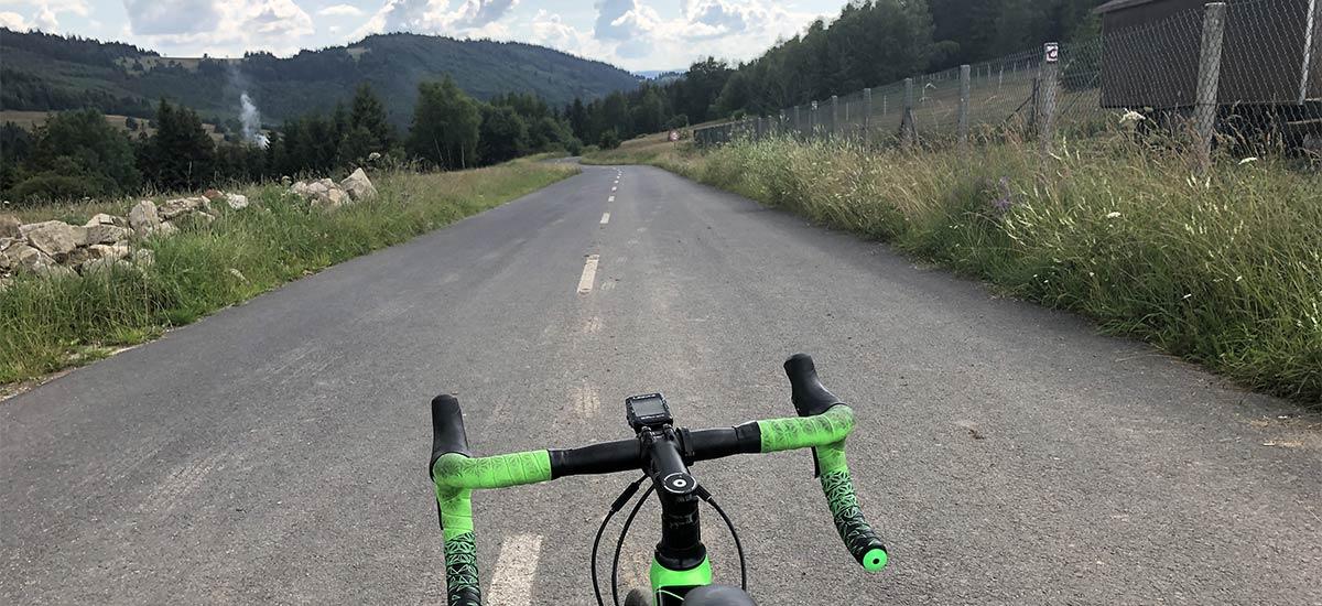 Stúpania na Kysuciach vsedle cestného bicykla – moje tipy