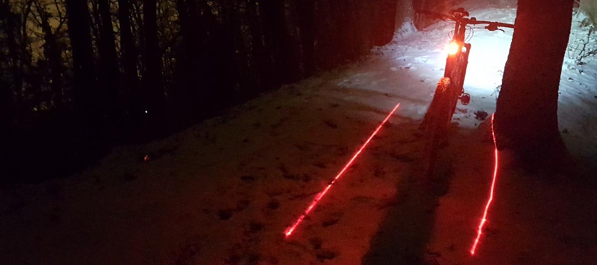 Test: Lezyne Laser Drive – nielen efektná laser show