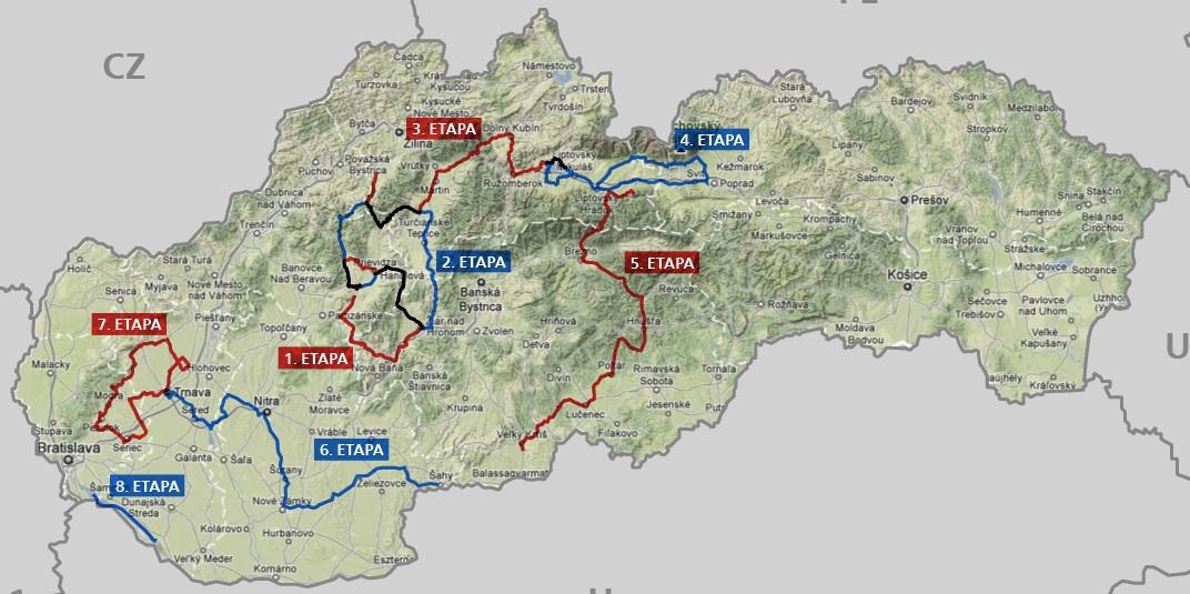 Na Okolo Slovenska sa zíde kvalitná konkurencia