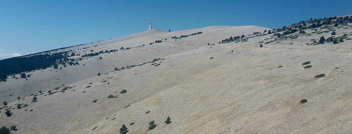 Sám na dvoch kolesách a stúpanie na Mt. Ventoux