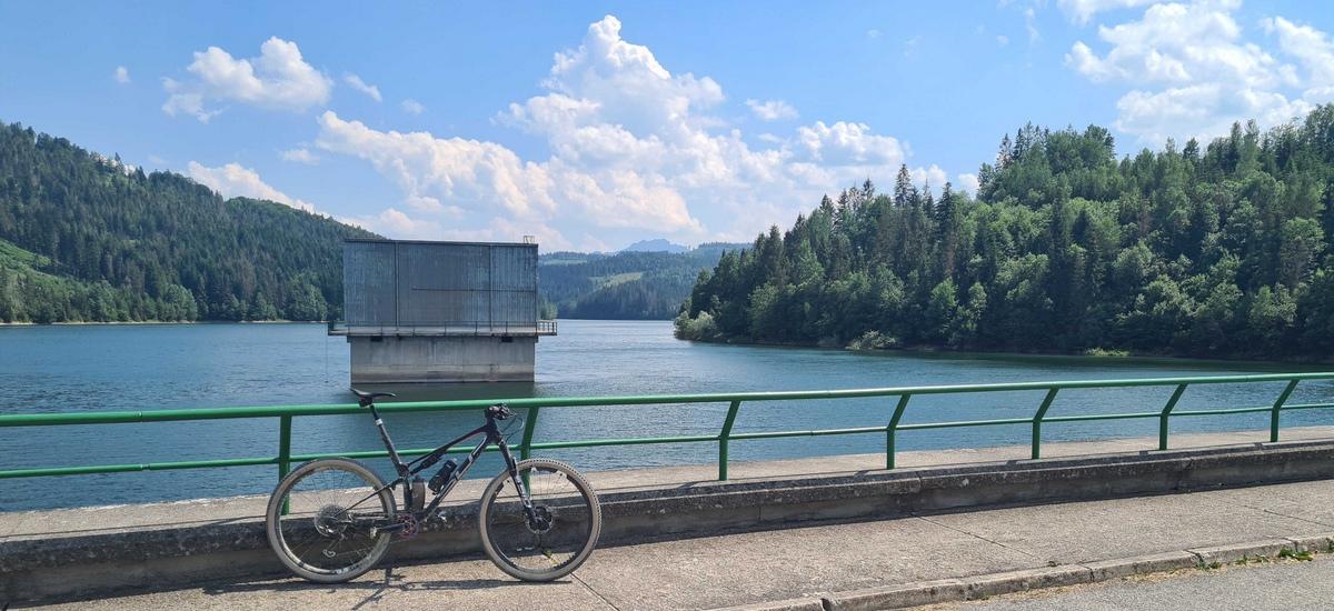 Tip na výlet: Vodná nádrž Nová Bystrica - zo Žiliny cez Terchovú a späť