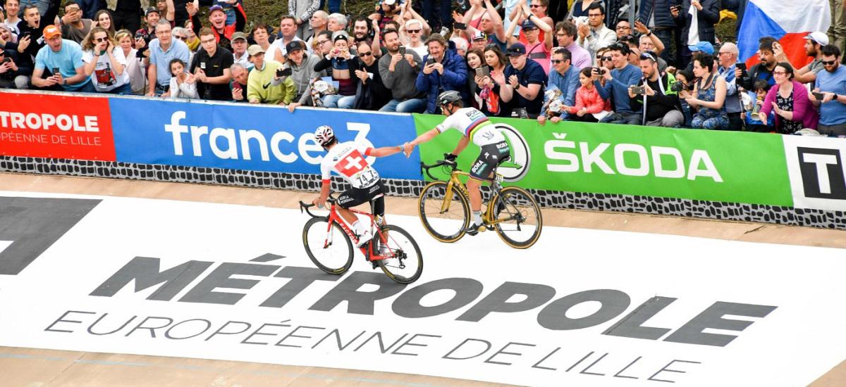 Paríž-Roubaix a odpoveď hodná svetového šampióna