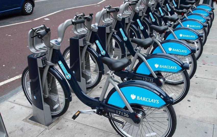 Zdroj: Verejné požičovne bicyklov v Londýne.