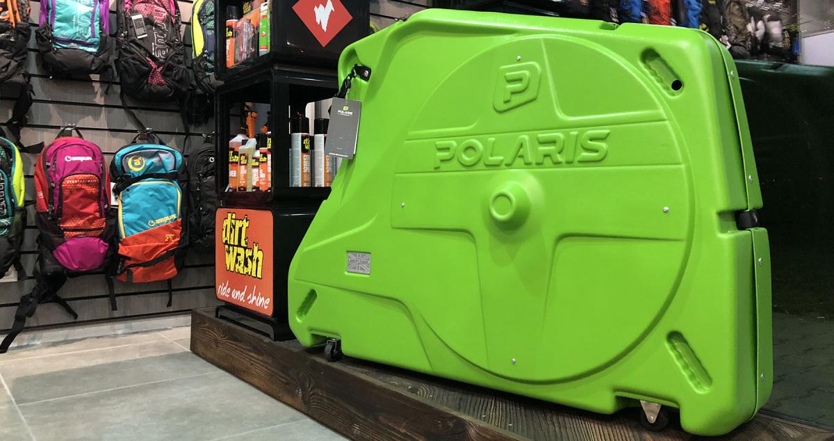Ochranné obaly Polaris – s bicyklom na cestách