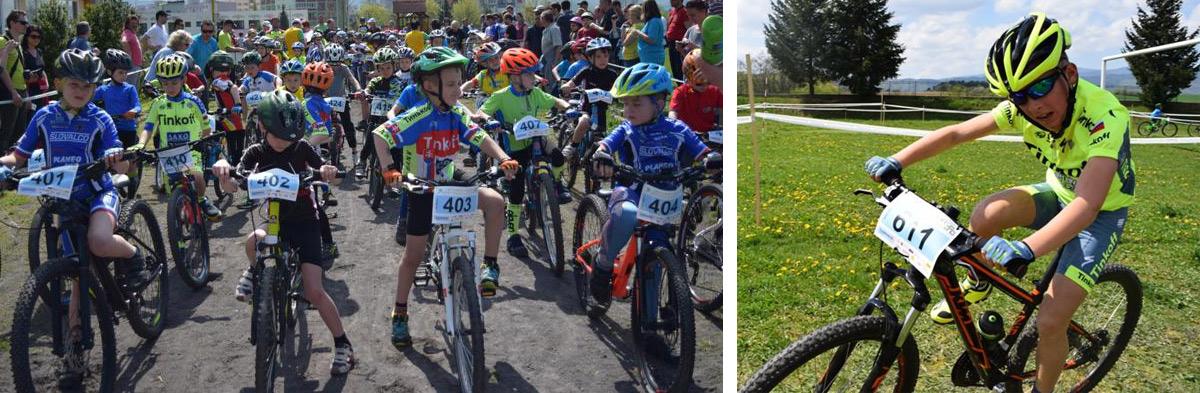 Detská tour Petra Sagana 2.kolo - rekord z Lučenca prekonaný nebol, ale trať bola výborná