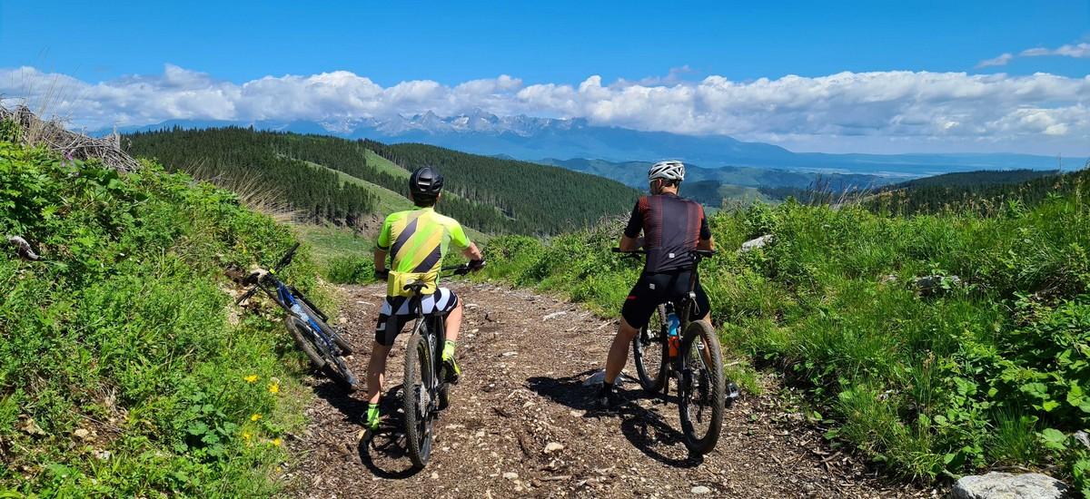 Tip na výlet: Hrebeňom do Smrečinského sedla - tatranské MTB s top výhľadmi