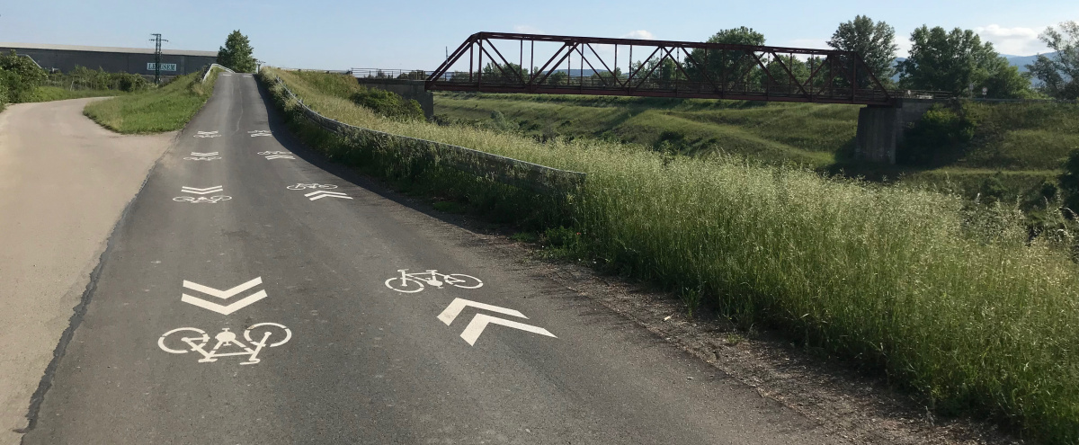 Vážska cyklomagistrála – prvý úsek cyklisti otestujú už o pár dní