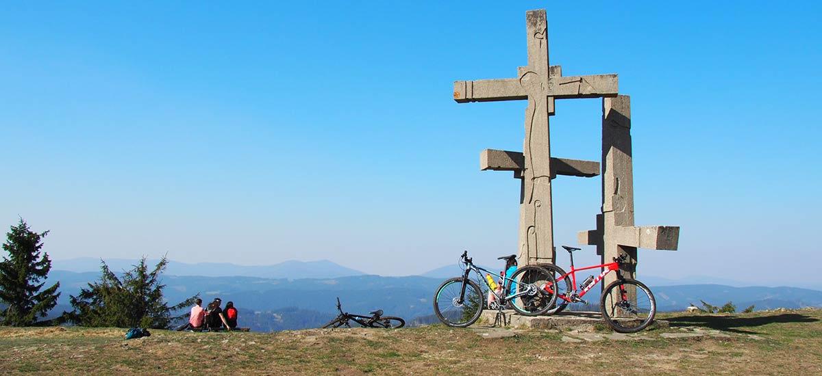 Tip na výlet: Hrebeňom štátnej hranice od Kohútky po Makov - Kasárne
