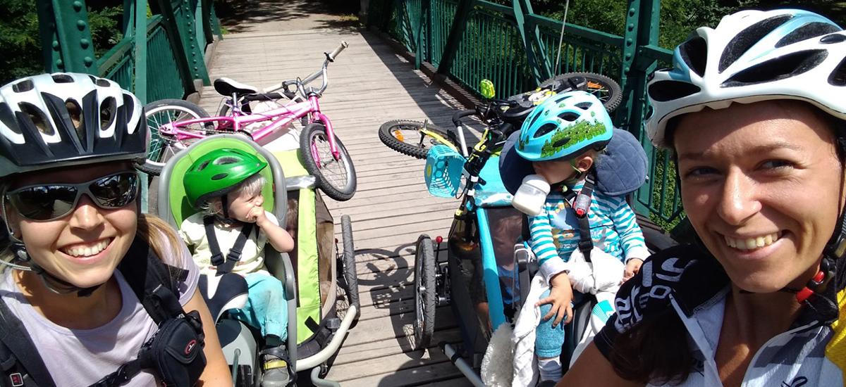 Tip na výlet: Skúška sily – zbaľ si veci, deti a choď na bike