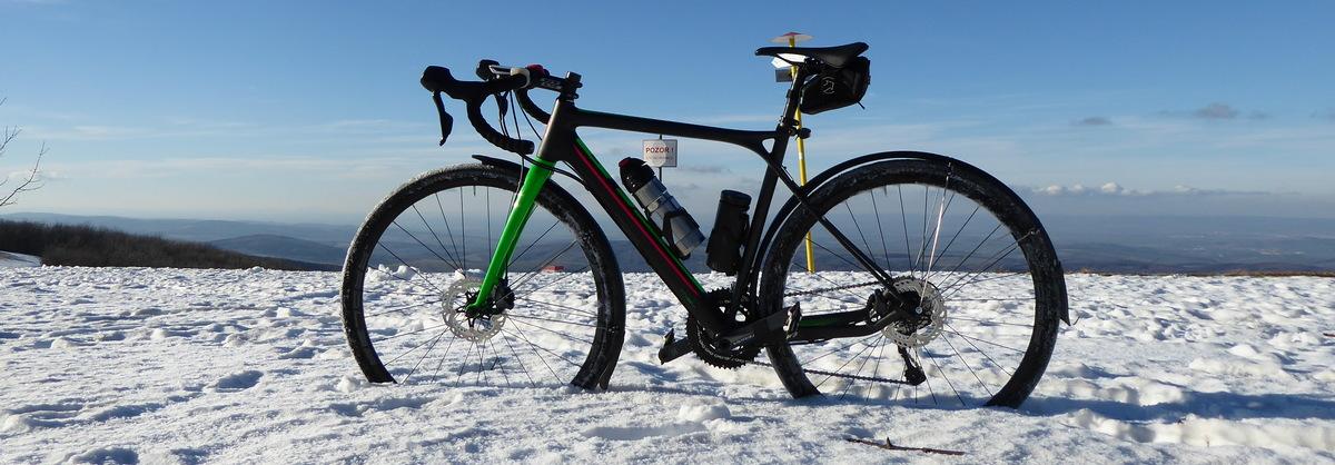 Zimák alebo ako vyskladať cestný bicykel na zimné výjazdy