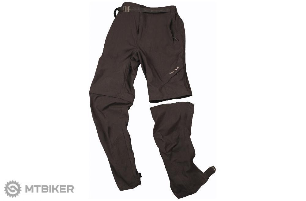 1d49a25d42fe Endura Hummvee Zip-off pánske nohavice čierne - MTBIKER Shop