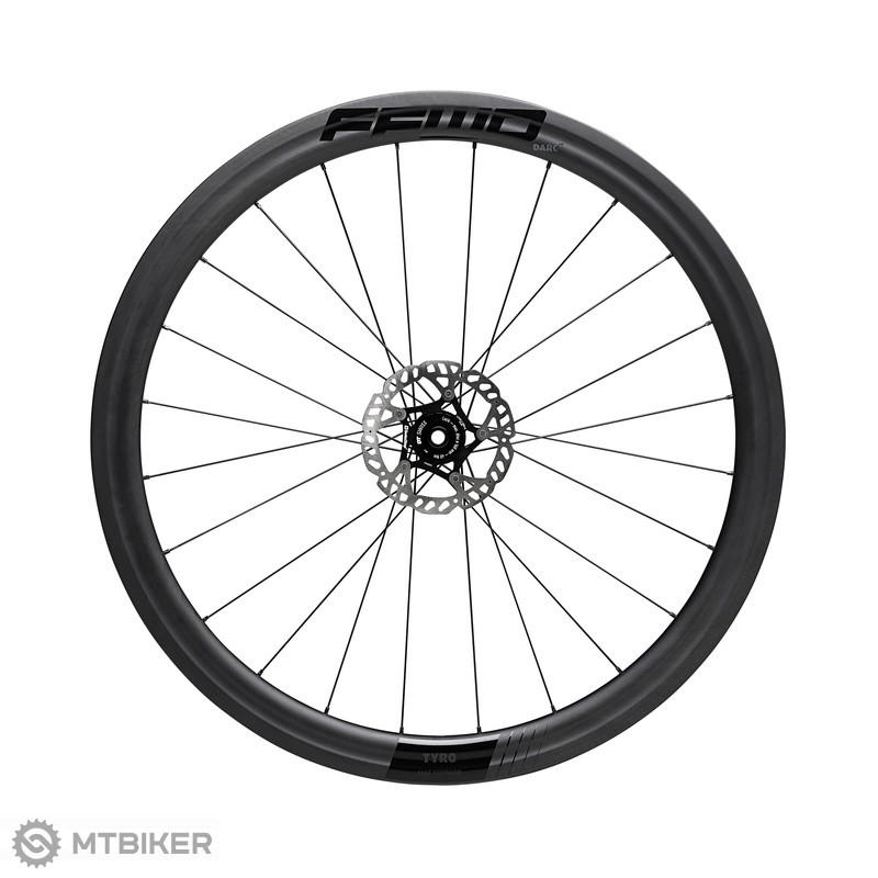 FFWD karbonové kolesá TYRO (45 mm), farba MattBlack, plášť