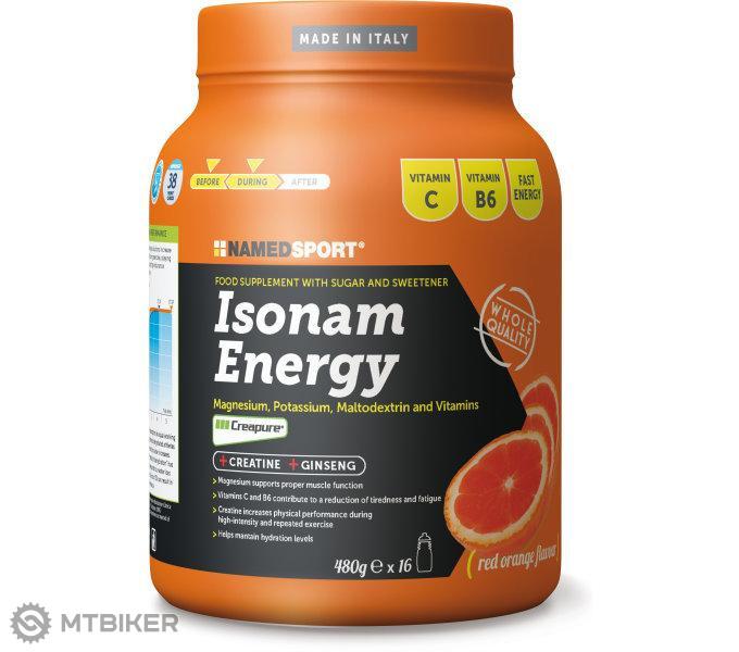 Namedsport nápoj Isotonic Energy pomaranč 480g