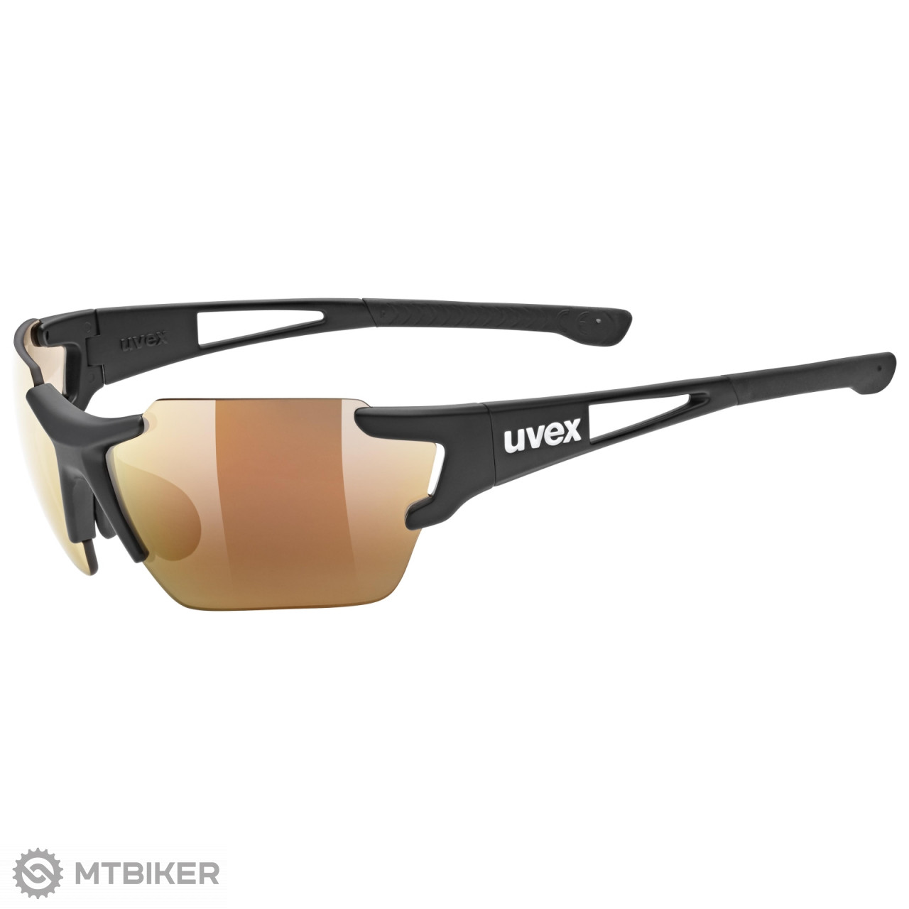 Uvex Sportstyle 803 Small Race VM CV okuliare Black / Urban 2020