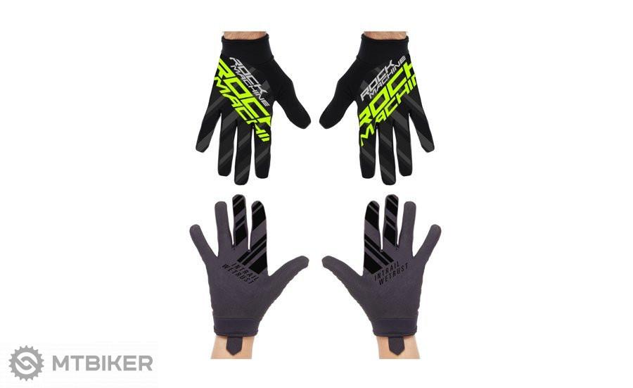 ROCK MACHINE rukavice RACE zelené