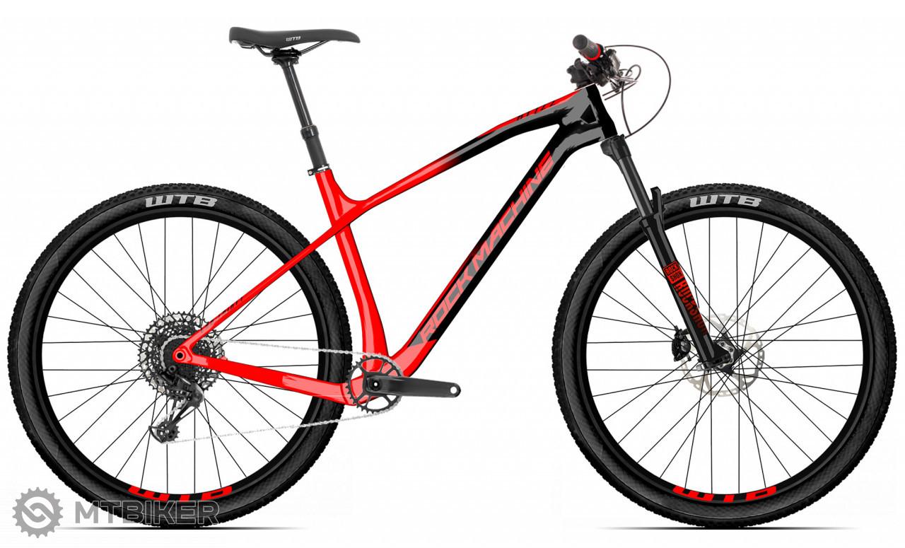 Rock Machine Blizz CRB 70-29, model 2021, červená/čierna