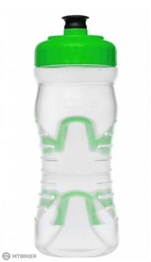 Fabric fľaša 600 ml clear/green
