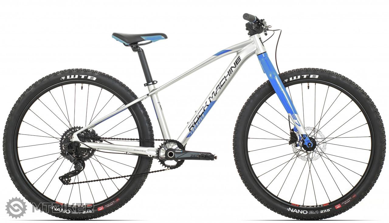 Rock Machine Thunder 27 HD LTD, model 2021, strieborná/modrá/čierna