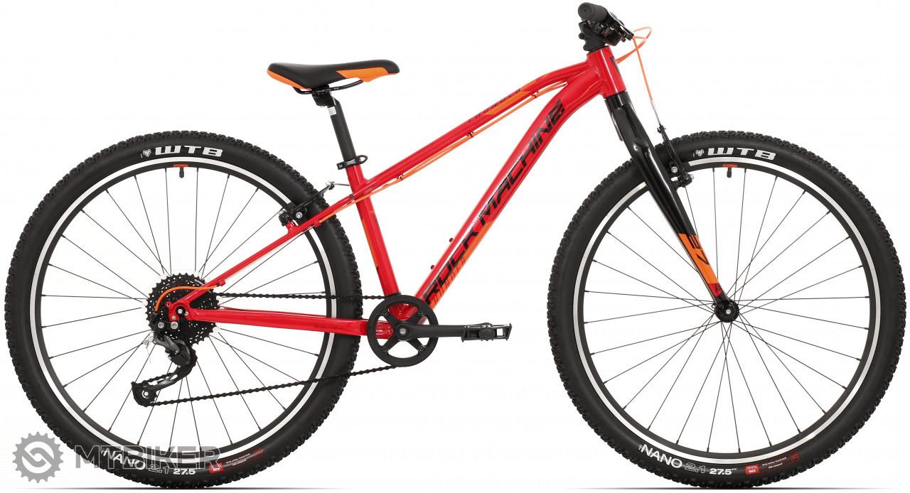 Rock Machine Thunder 27 VB, model 2021, červená/čierna/oranžová