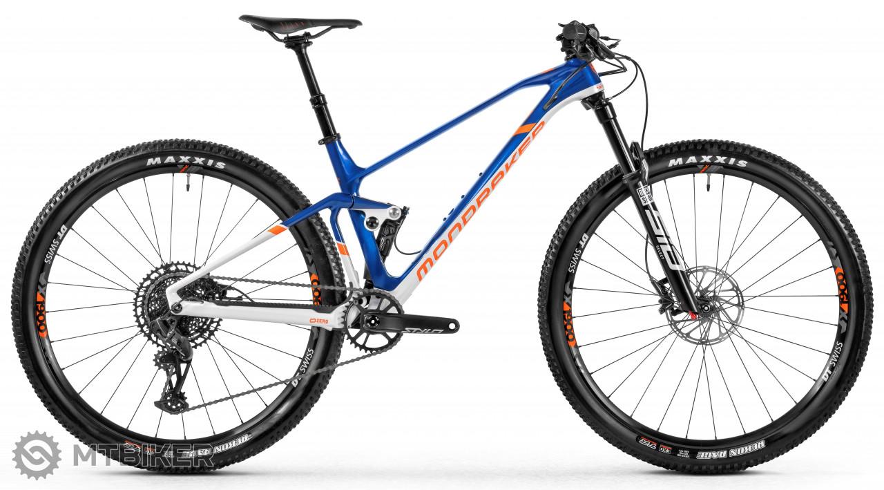 Mondraker F-Podium DC Carbon, blue/white/orange, model 2021
