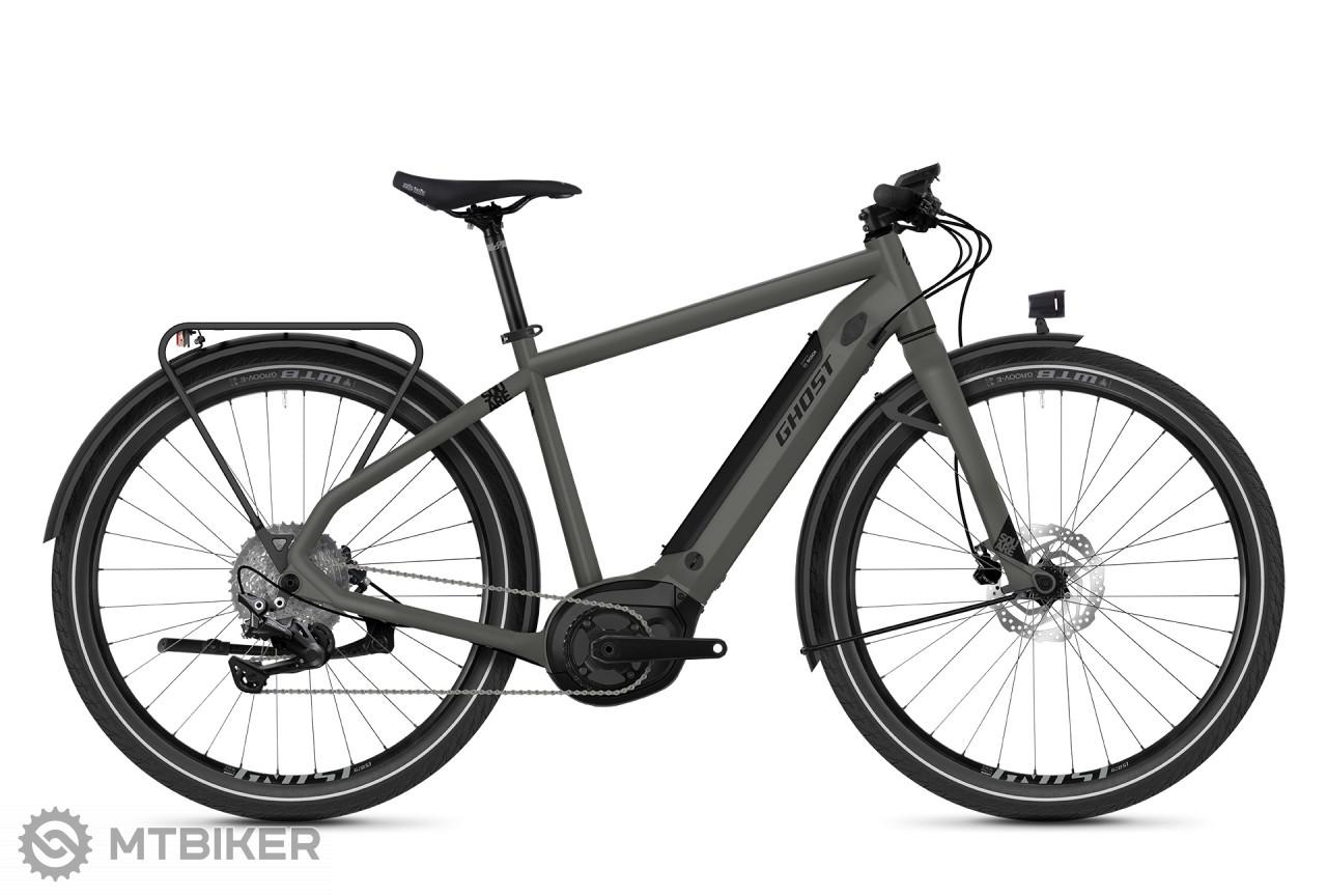 Ghost E-Square Travel B4.7 - Rock Grey / Jet Black, model 2020