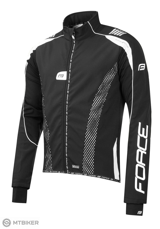 Force X72 PRO bunda softshell čierno-biela
