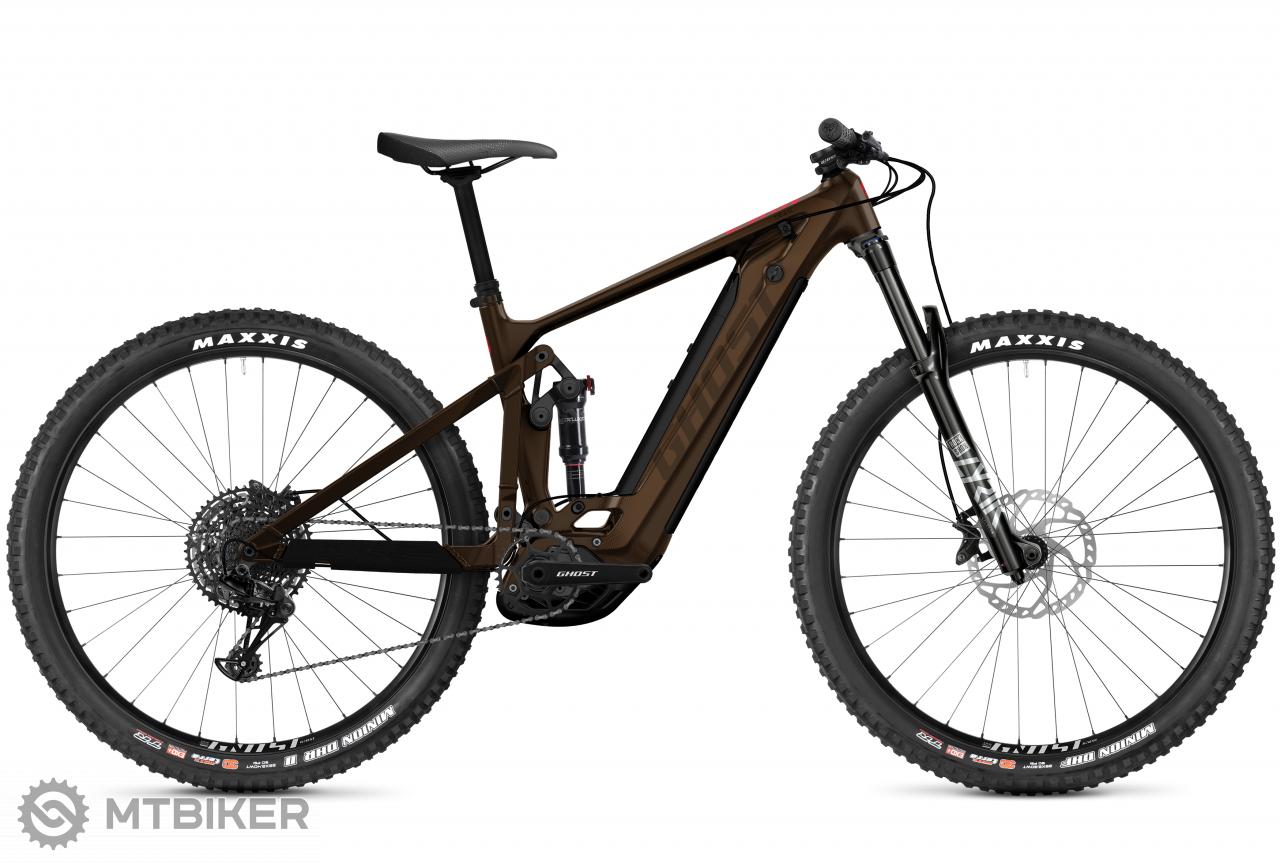 Ghost E-Riot Trail CF Advanced B625 - Chocolate / Brown, model 2021