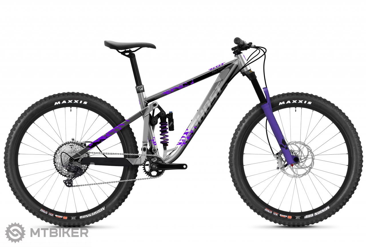 Ghost Riot Trail Full Party - Silver / Electric Purple, model 2021