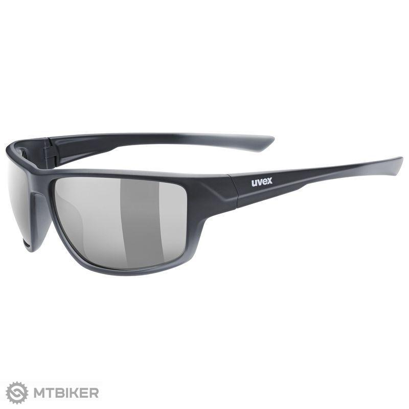 Uvex Sportstyle 230 okuliare Black Mat S3