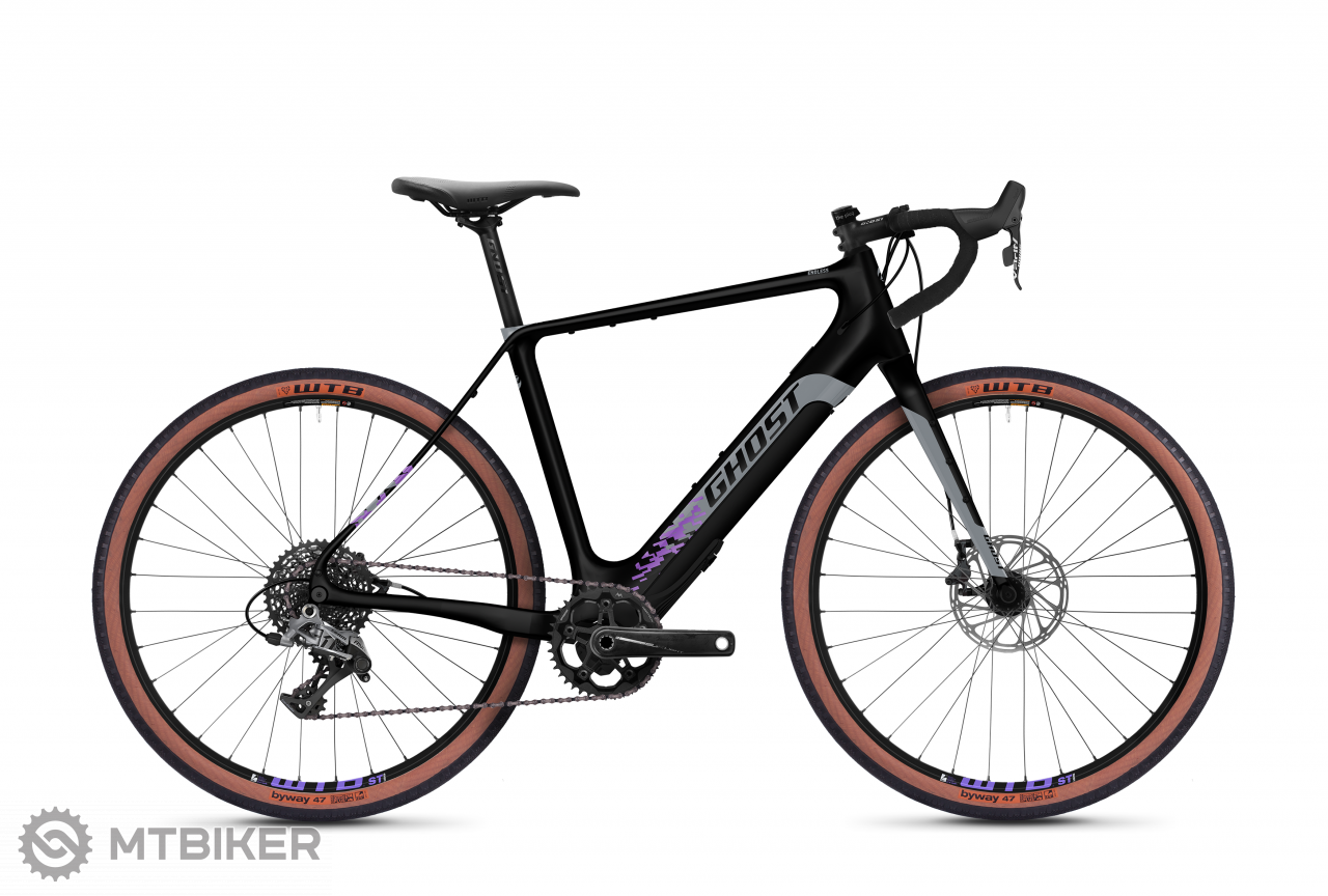 Ghost E-Road Rage Endless 27.5 LC F250 - Midnight Black / Cool Grey / Purple, model 2021