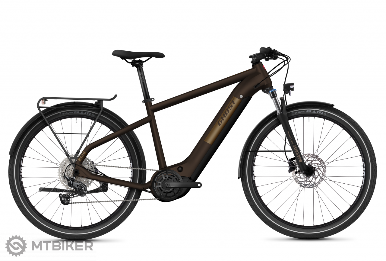 Ghost E-Square Trekking Advanced Y630 - Chocolate / Gold, model 2021