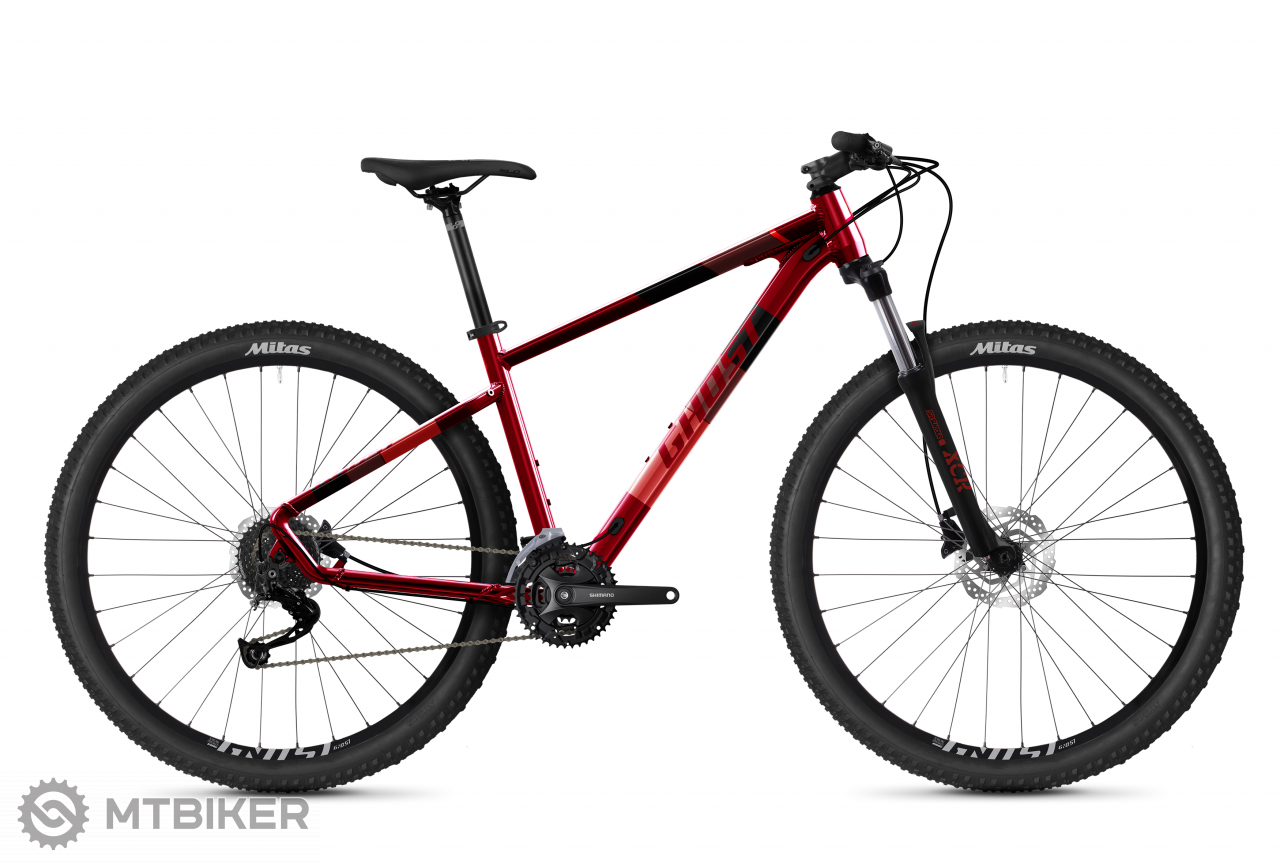 Ghost Kato Universal 29 - Dark Red / Light Red, model 2021