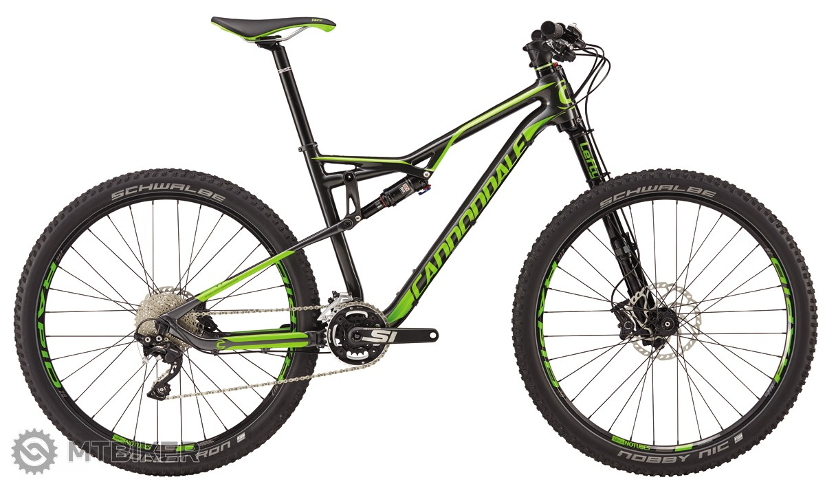 Cannondale Habit Carbon 3 2016 horský bicykel