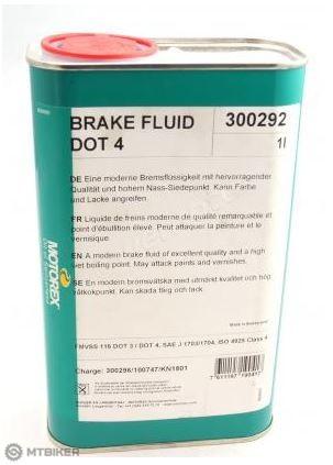 Motorex Brake Fluid DOT 4, 1l, 2016
