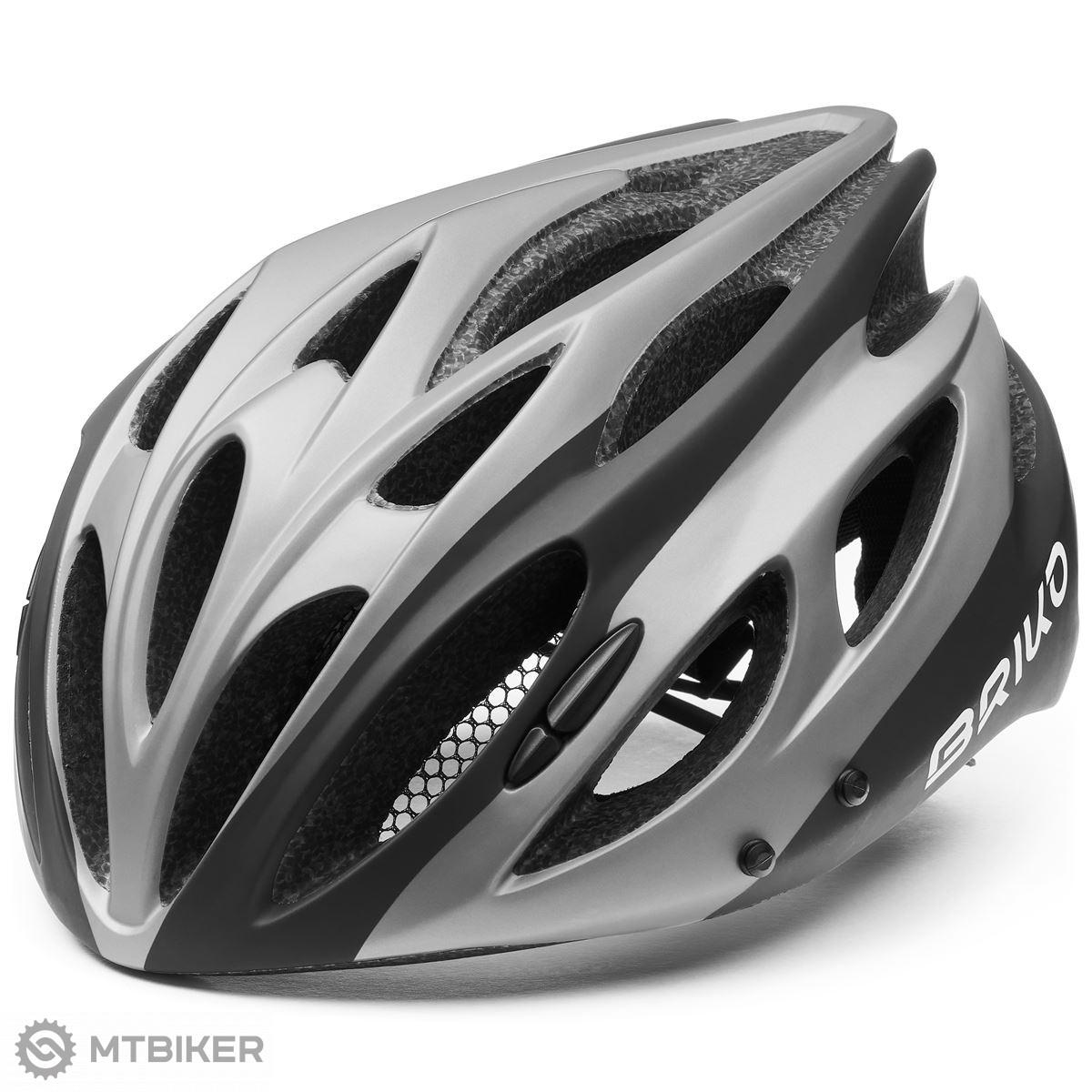Briko cyklistická prilba KISO -šedá-M (54-58) šedá