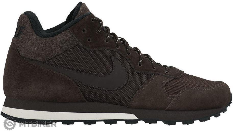 Nike MD runner 2 Mid pánske topánky hnedé - MTBIKER Shop 2523275f7ca