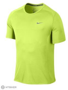 d0be85096265 NE Nike Dri-Fit Miler pánske bežecké tričko s kr.rukávmi žltá reflexná