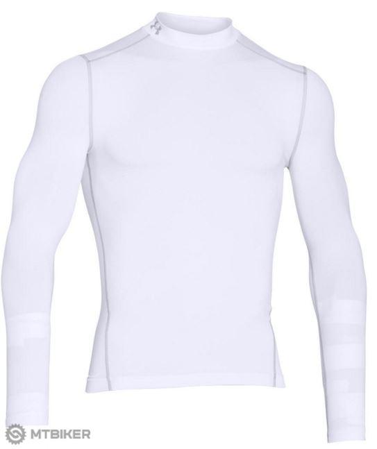 b922b9be0 Under Armour CG Armour Mock pánske funkčné tričko s dl.rukávmi biele ...