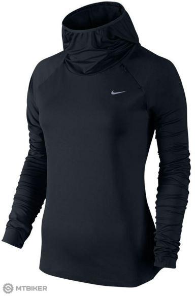 e1b0932af9172 Nike Element dámska bežecká mikina s kapucňou čierna - MTBIKER Shop