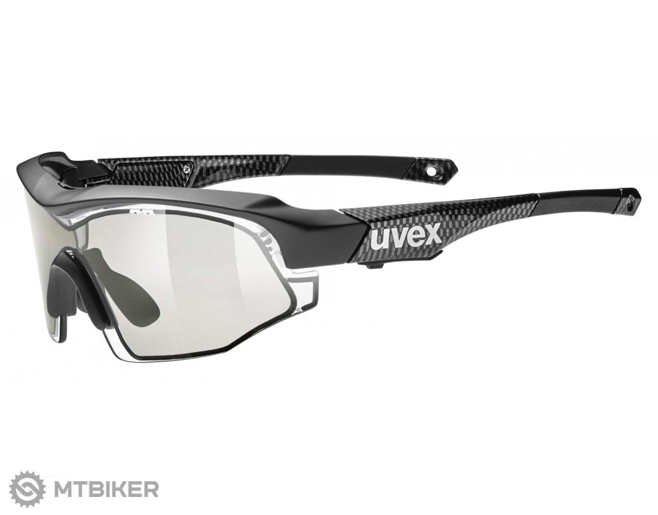 Uvex Variotronic S okuliare black karbon - MTBIKER Shop 10589ec2ee1