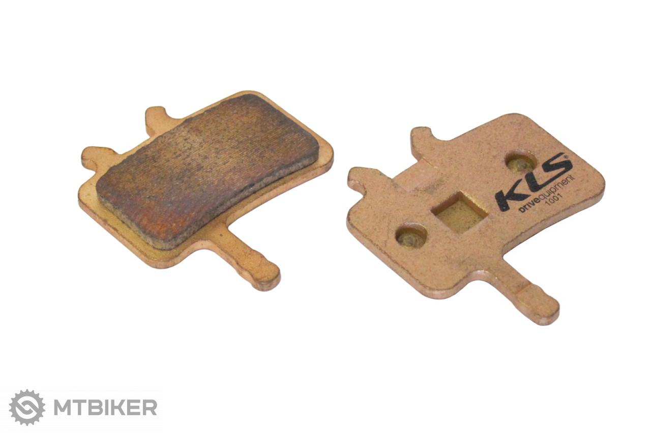 Kellys brzdové platničky KLS D-02S, sintrované (pár)