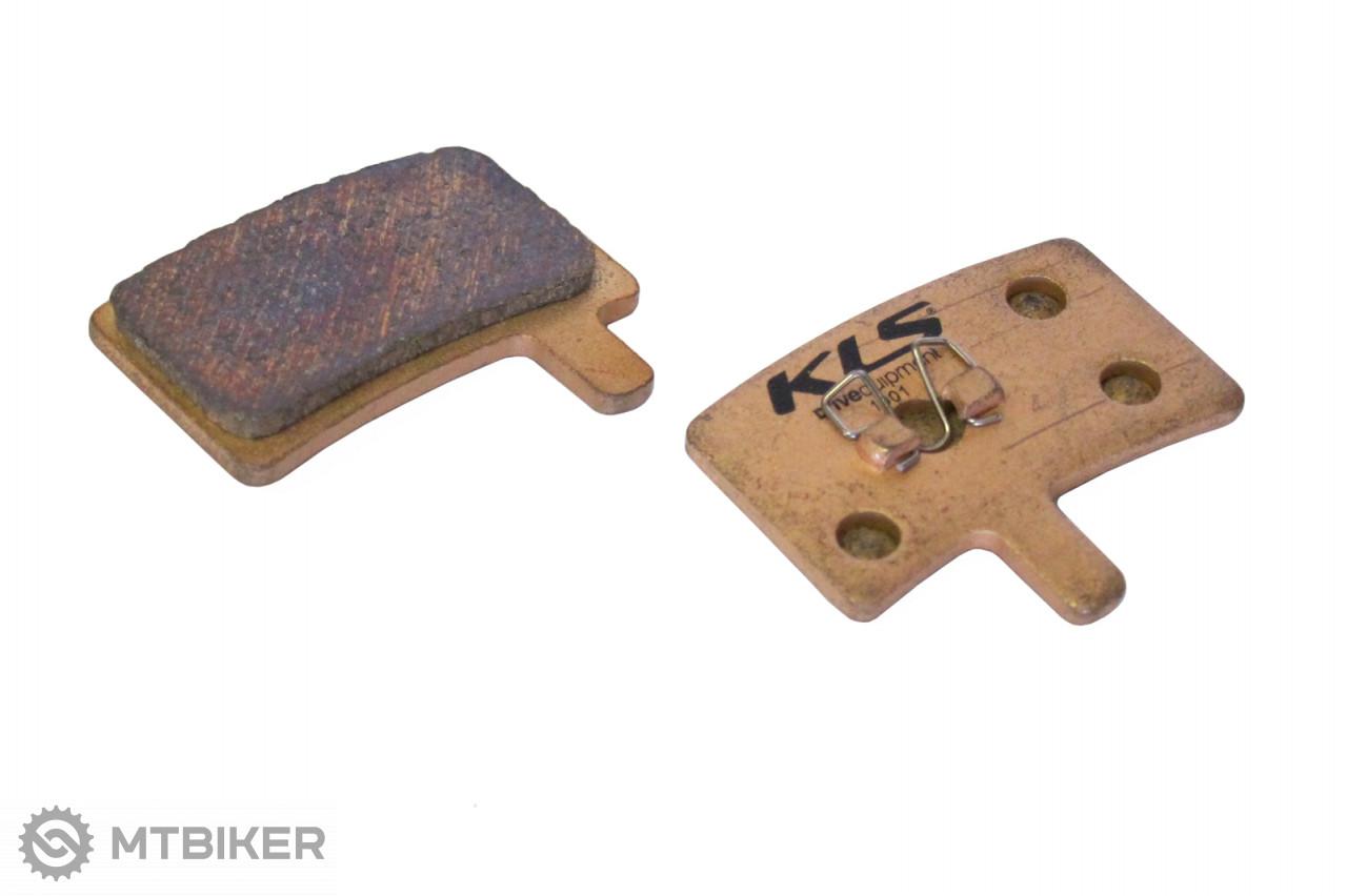 Kellys brzdové platničky KLS D-05S, sintrované (pár)