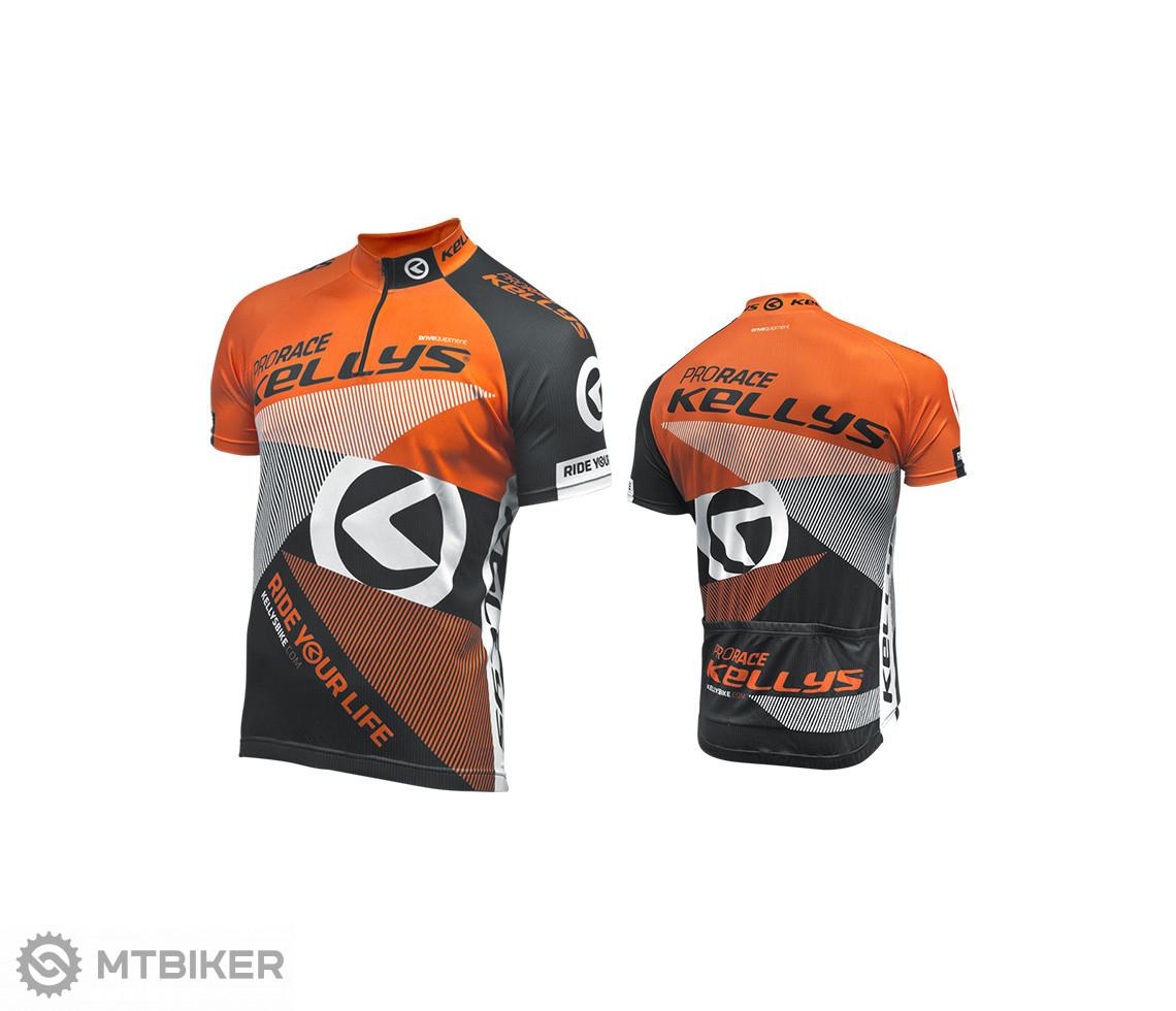 Kellys Dres PRO Race krátky rukáv orange model 2016