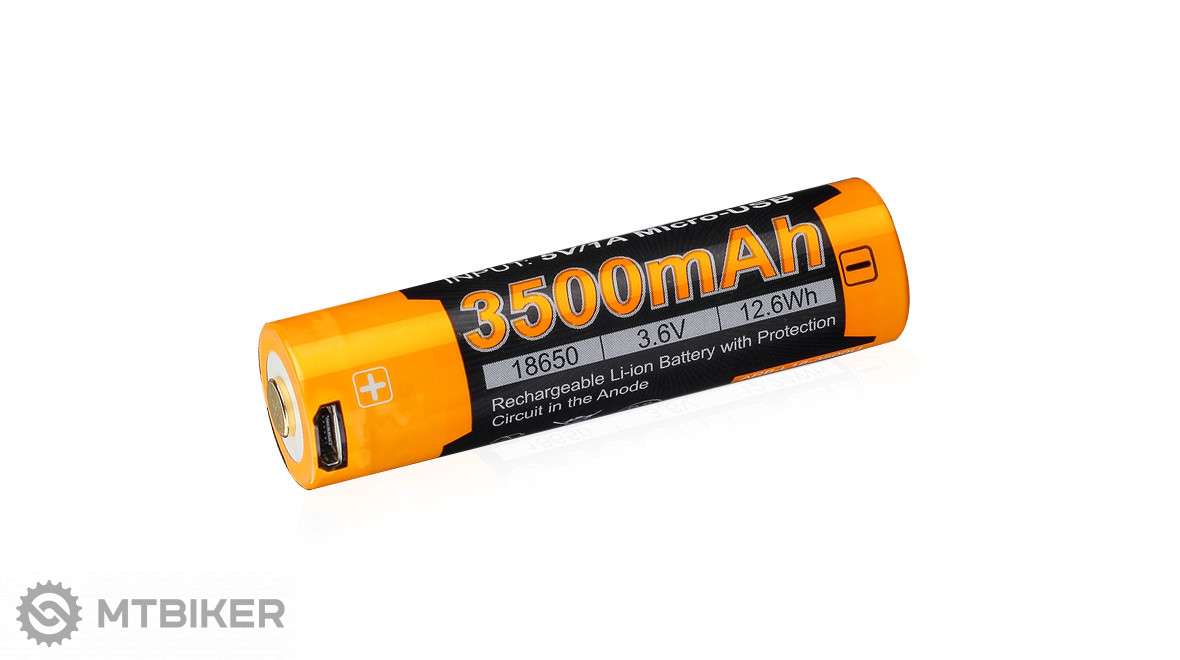 Dobíjacia USB batéria Fenix 18650 3500 mAh (Li-ion)